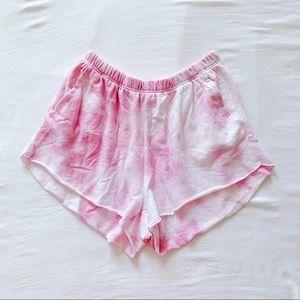 MIGHTY FINE Tie Dye Sweat Shorts